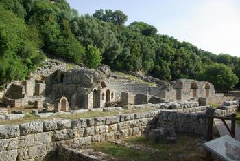 Butrint - théâtre antique
