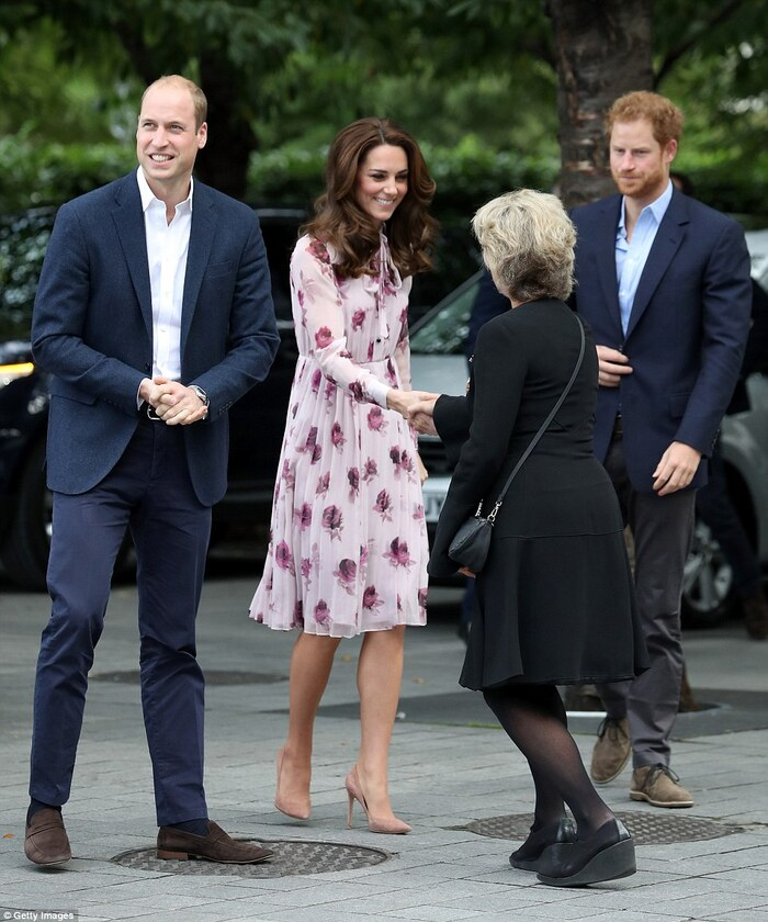 William - Kate et Harry