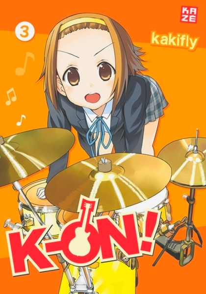 K-on tome 3