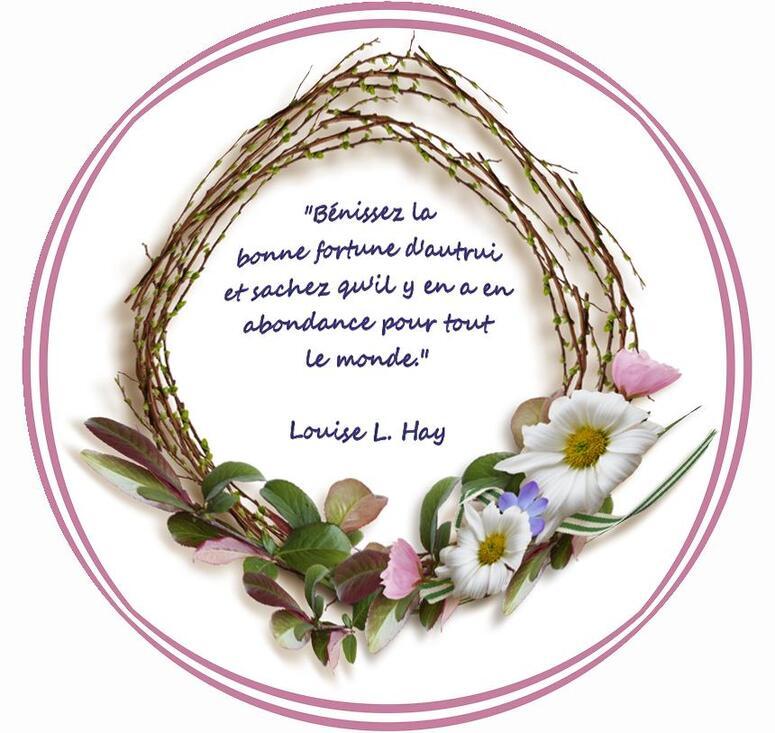 Citation de Louise L. Hay:  Assez pour Tous