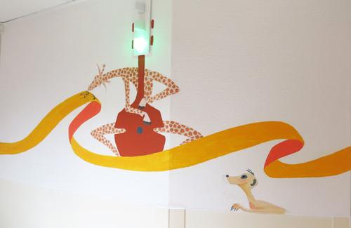 girafe suricate contrebasse pédiatrie