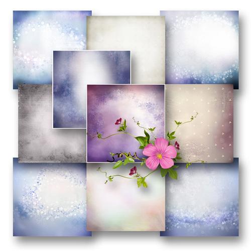 Kit Collab Blooming Roses de BeeCreation et ScrapOfAngel