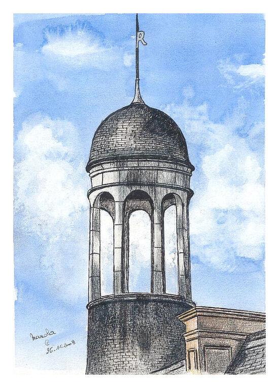 Une tour du château de Chambord