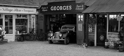 Les garages automobiles d'antan, suite
