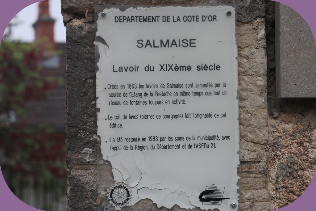 SALMAISE (CÔTE D'OR) LAVOIR N°2