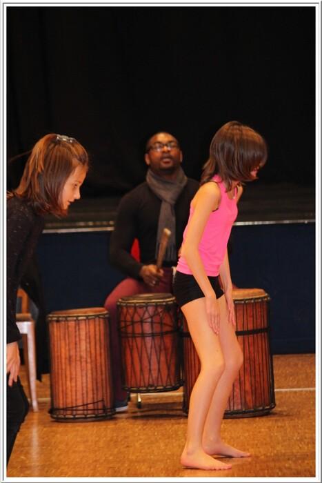 Cours de danse africaine ce mercredi 12 novembre 2014