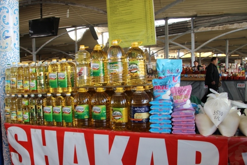 Tashkent : le marché Chorsu