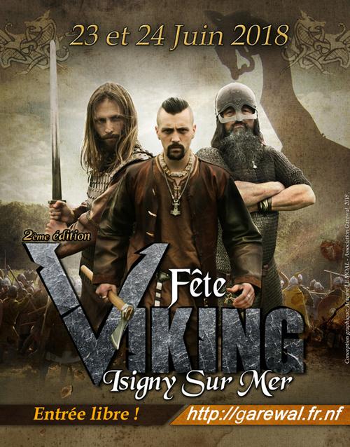 Garewal fête viking  isigny sur mer