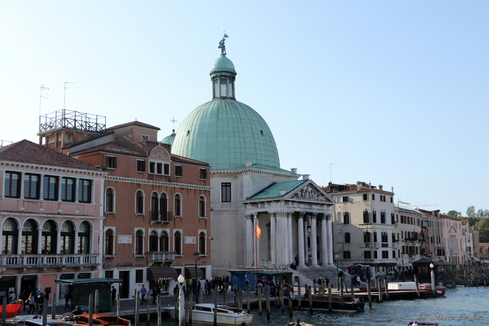 Venise, direction place Saint Marc via le Grand Canal