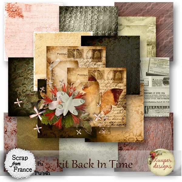 """ Back in Time"" de Xuxper Designs"