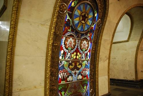 Le métro de Moscu (photos)