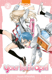 Your lie in April tome 1,2 et 3 de Naoshi Arakawa