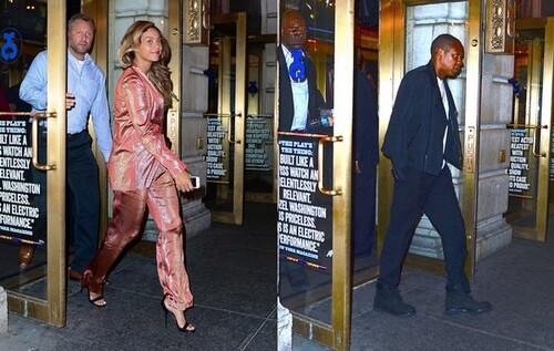 Beyoncé et Jay Z à New York (14/06/2014)