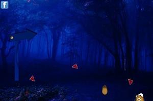 Jouer à Halloween spooky forest escape