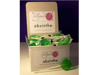 du thuyone en sucette!!!absinthe lollypops