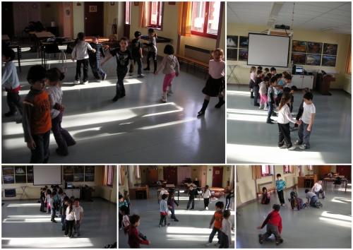 Projet danse CP