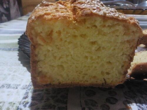 Cake salé au deux fromages