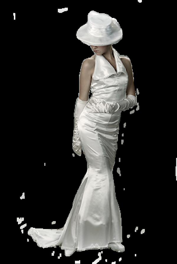 Femme en robe de maiée / 6