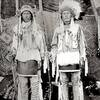 Blue Shield and Two Kill. Assiniboine. Fort Belknap, Montana. 1899