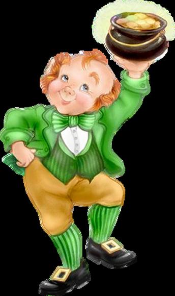 Tubes St Patrick personnages