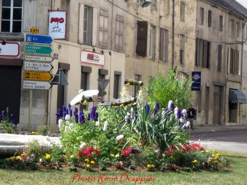 Châtillon décorée