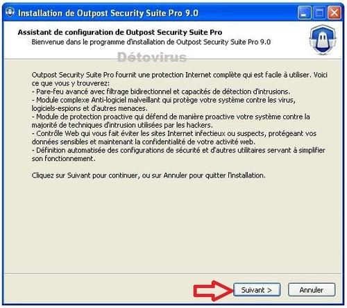 Outpost Security Suite Pro 9 - Licence 120 jours gratuits