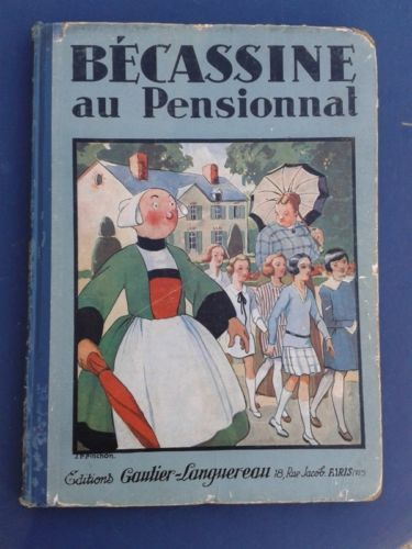 Becassine AU Pensionnat 1928: