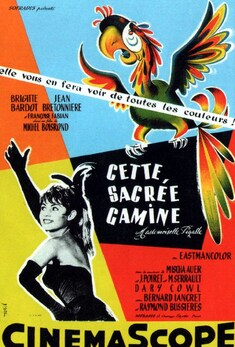 CETTE SACREE GAMINE BOX OFFICE ANNUEL FRANCE 1956