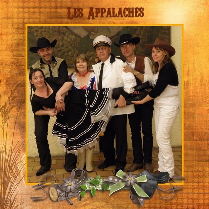 Les Appalaches souvenirs des bals costumés -Segonzac 2011