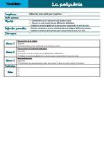Séquence CE1 - La polysémie