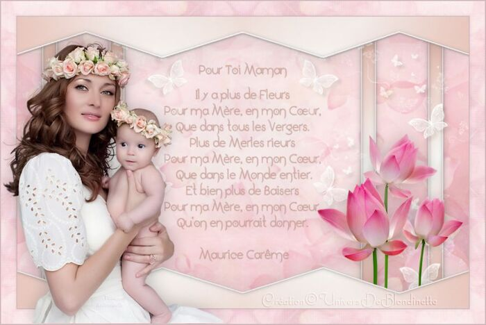 "Tutoriel ""Douce Maman"""