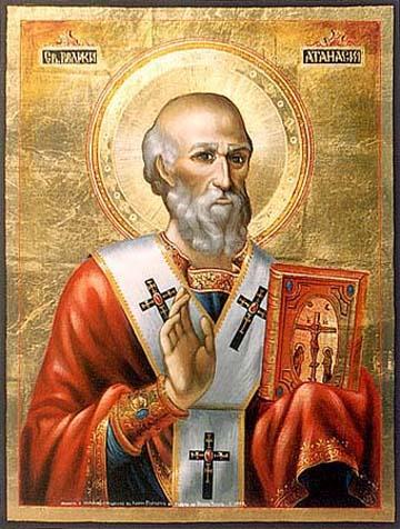 Saint Athanase d'Alexandrie, Patriarche d'Alexandrie, Père de l'Eglise († 373)