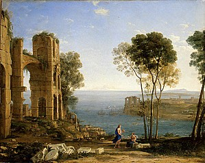 Gellee Claude (Le Lorrain)3-XX-Coast View with Apollo and t