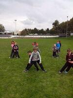 nos séances du rugby