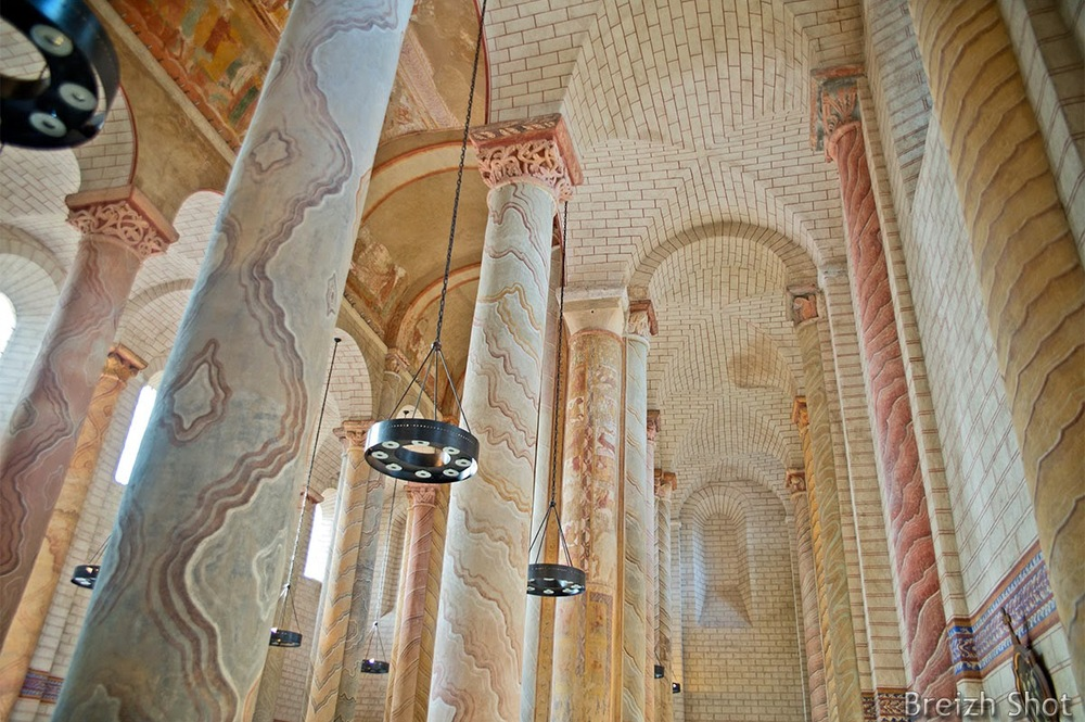 fresques abbaye de saint-savin-sur-gartempe