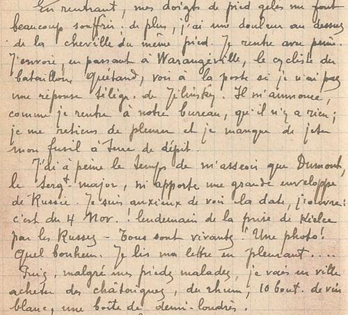 """05*1914: Décembre du 1er au 31 - """" Enfin des nouvelles de la famille """" & """"1er Noël en Guerre"""""""
