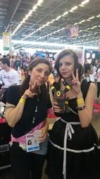 Caitlin à la Japan Expo