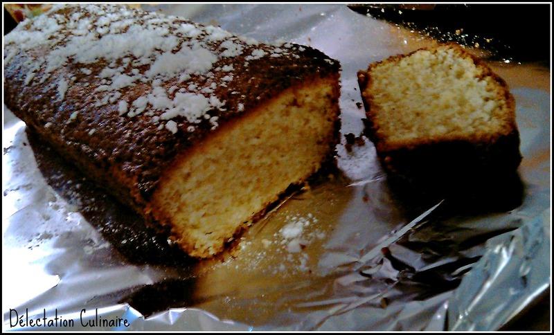 Un quatre quart ... ou cake nature, mon premier !