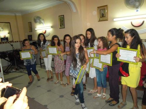 Cérémonie de remise des diplômes de mérite 2012