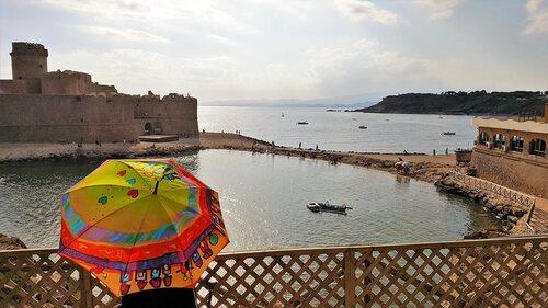 Parapluie au Castella