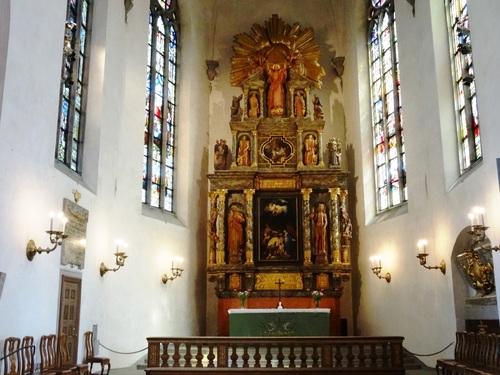 Stockholm: autour de l'église Zainte Claire et de la place Gustave Adolphe (photos)
