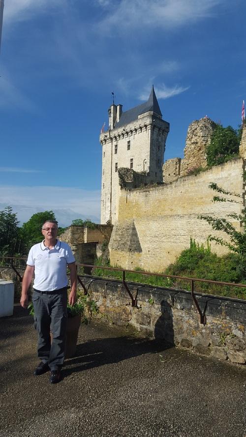 La forteresse de Chinon, mardi 14 juin. (Albert Fagioli)