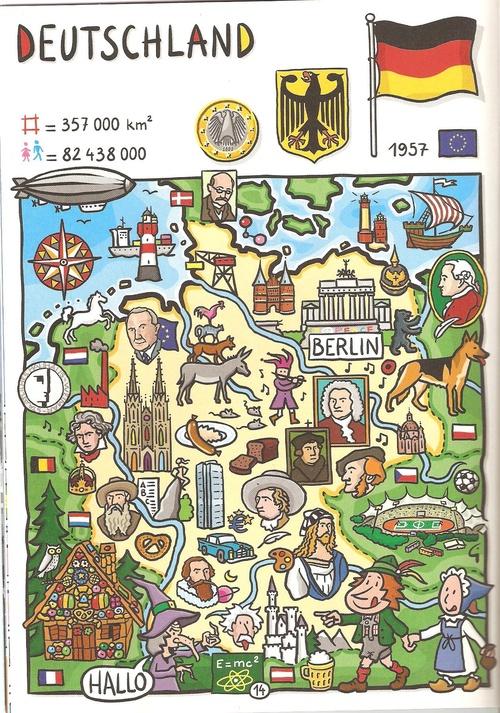 D Karte