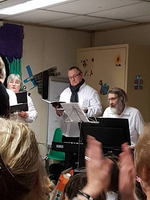 Concert au csc Saint Martin