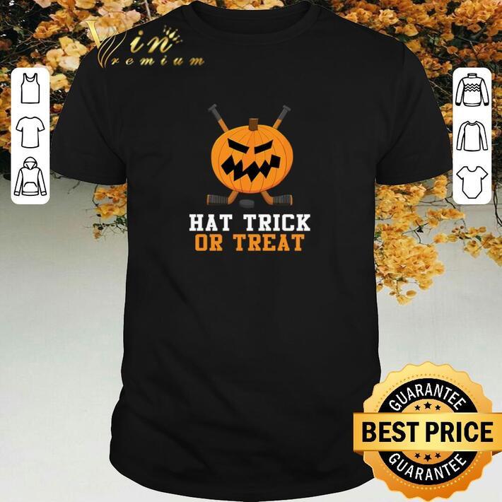 Funny Pumpkin hat trick or treat halloween shirt