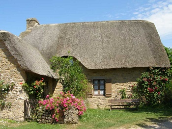 Les toits en chaume de nos chaumières ...