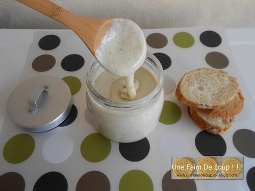 Pâte à tartiner au chocolat blanc et vanille