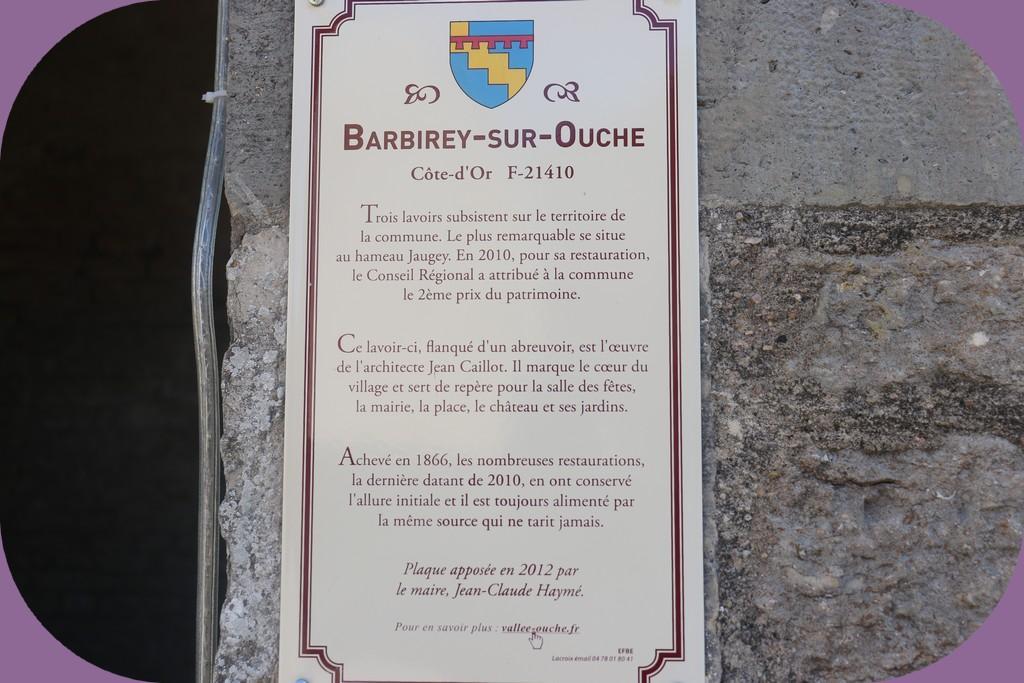 BARBIREY SUR OUCHE (CÔTE D'OR)
