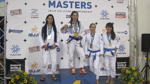 Annabel Merlier, sacrée championne du monde de ju-jitsu brésilien