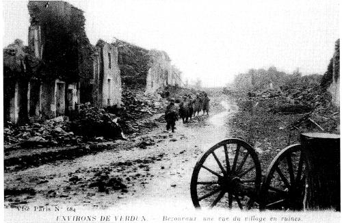 Bezonvaux 1917-1918 : La guerre continue